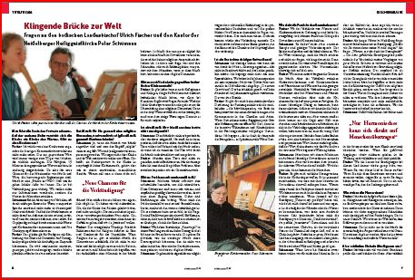Interview zur Kirchenmusik