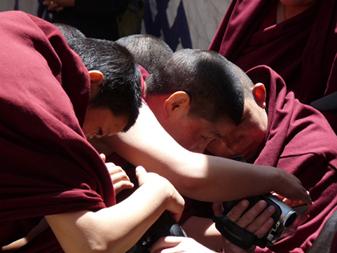 Tibet - Frauenkloster in Lhasa